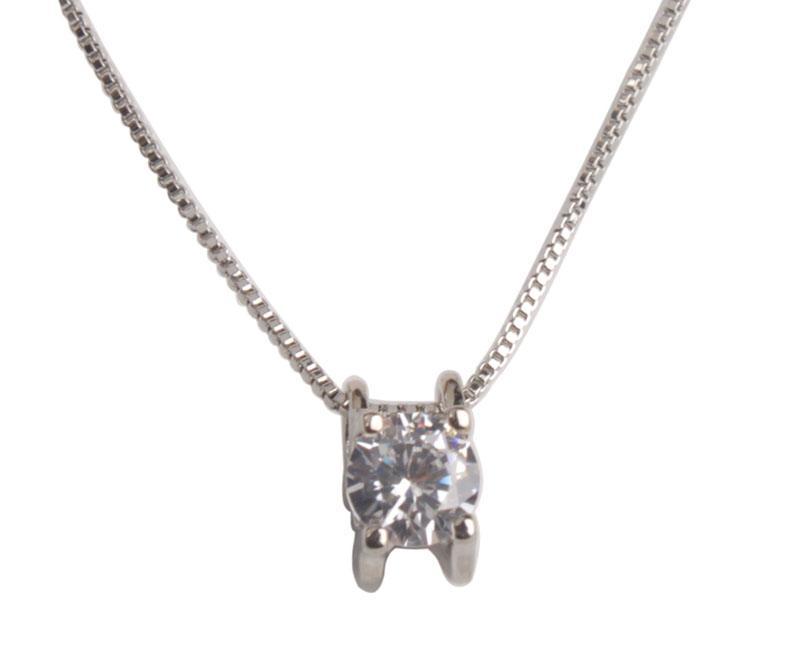 Art und Weise Rhinestone-Anhänger-Kette Necklace # 92505 freies Verschiffen