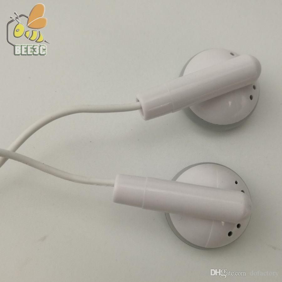 Company Gift Mini Portable Earphone MP3 Player Earphone Cheap for Music Player Tablet Mobile Phone With OPP Bag