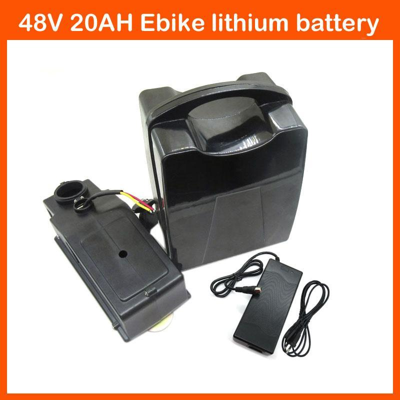 best rechargeable 48v 20ah scooter battery 1000w electric bike ebike lithium battery with 30a. Black Bedroom Furniture Sets. Home Design Ideas