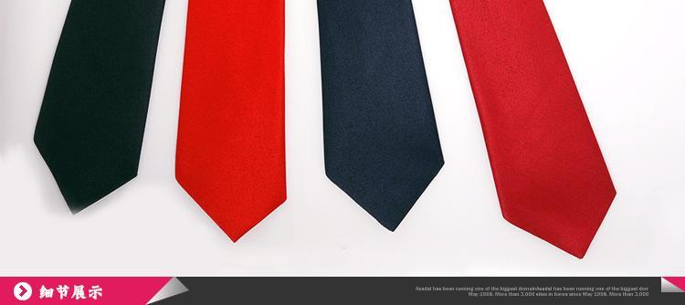 아기의 단단한 넥타이 4 색 어린이 넥타이 28 * 6.5cm neckcloth neckwear neckquoth 아이들을위한 크리스마스 선물