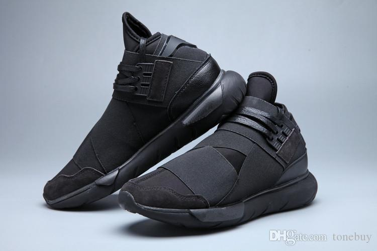 154182642 Adidas Originals Y-3 Qasa High All White Men s Shoes