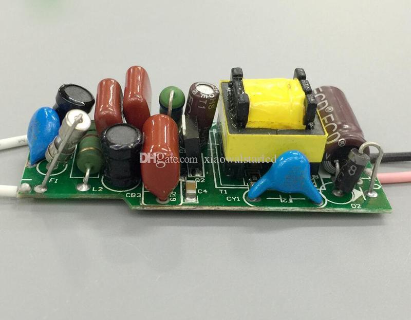 AC220V 9-12 x1W 9w 10w 12w CE EMC aprovação triac driver de LED Dimmable Lâmpada de Alimentação de iluminação transformadores isolados da fonte de alimentação