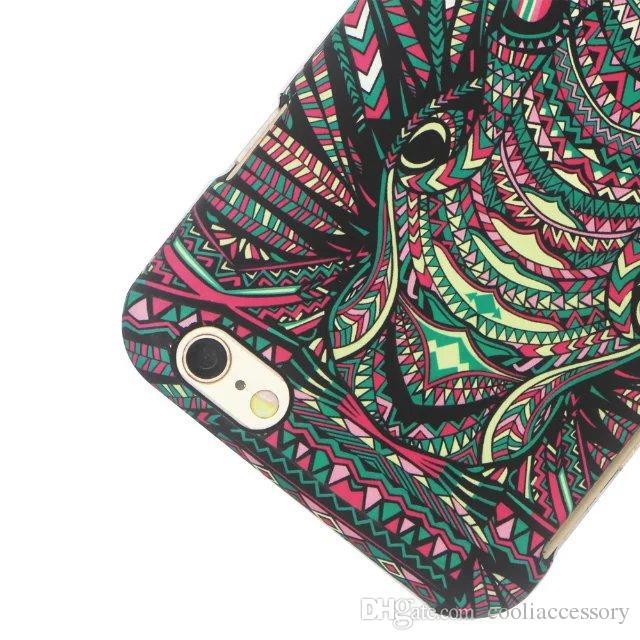 Glow In Dark Cartoon Tiger Hard PC Case For Iphone 6 6S Plus SE 5S Samsung Galaxy S7 S6 EDGE PLUS NOTE 5 J1 ACE J3 Luminous Feel Skin Cover