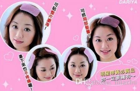 pelo de la franja frontal apretón de la pinza de pelo de maquillaje de la cara Lavarse el cabello pasador de pelo para las mujeres Accesorios del pelo envío