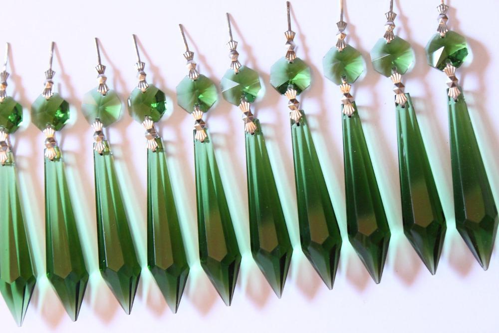Kronleuchter Glaskristalle ~ Großhandel fabrik preis netter grüner kronleuchter glas