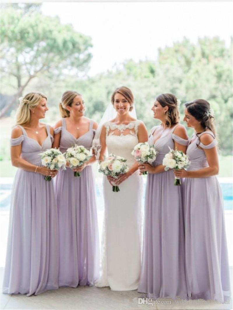 2017 country lavender bridesmaid dresses vestidos de madrinha plus 2017 country lavender bridesmaid dresses vestidos de madrinha plus size 2k17 ruched chiffon off the shoulder bridesmaid gowns cheap dresses convertible ombrellifo Image collections