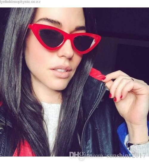 91f9578bca Lolita Cat Eye Women Sunglasses 2017 New Style Summer Hot Sale Fashion Lady  Sun Glasses For Men Vintage Designed Acetate Frame Glasses UV400 Lolita Cat  Eye ...