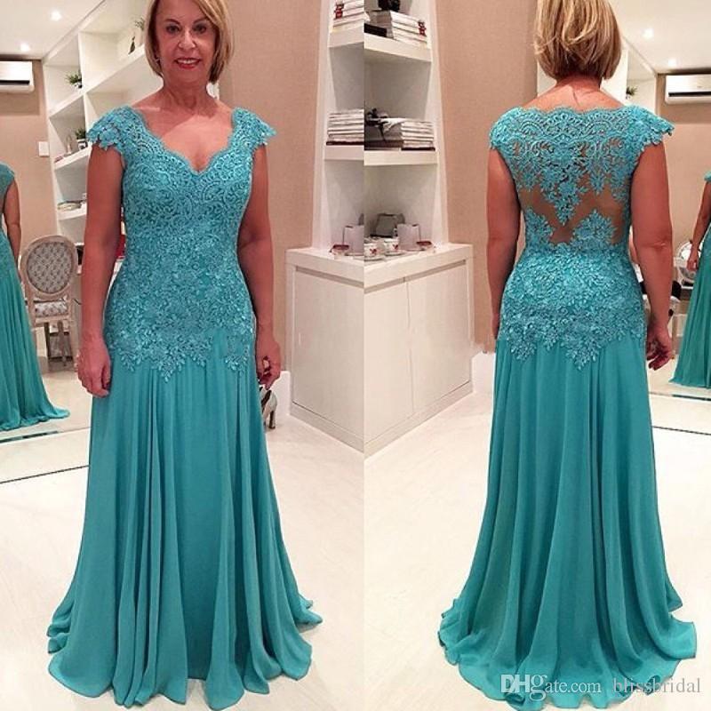 New Arrival Mother Formalne sukienki na Wedding Party Lace Sparkly Aplikacje Matka sukienek panny młodej