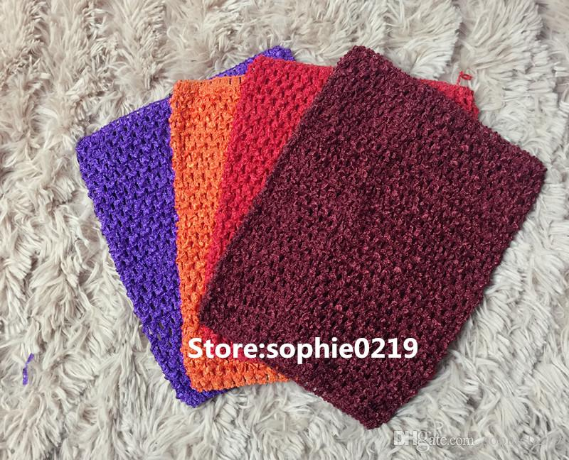 d9ed6d2773 ... Girl Crochet Waffle Tutu Top Tube Tops Knitted Headbands Wholesale  Baby. In Detail