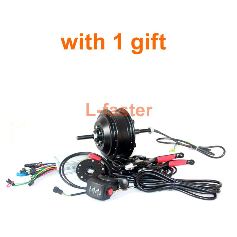 24V/36V 250W Electric bike Brushless Motor Kit Electric Bicycle Conversion Kit Youe Rear Hub Motor Fit Disc Brake And Speed Gear