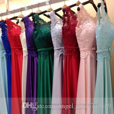 Real de casamento azul de seda vestidos de festa laço de cetim uma linha elegante vestido de festa de Casamento longa túnica mariage femme
