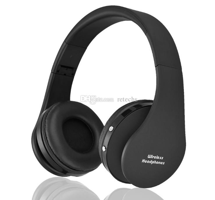 NX-8252 Professionelle faltbare drahtlose Kopfhörer Super-Effekt Stereo-Headset Bass Sport Bluetooth V3.0 + EDR mit Retail-Verpackung läuft