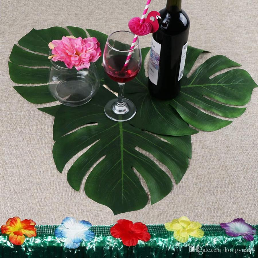 Best Quality Artificial Tropical Palm Leaves For Hawaii Luau Party ...