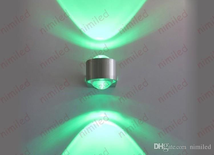 nimi946-1 LED 2 * 1W 2W LED appliques Fixture Riflettori Luci Sfondo Luce Lampade Aisle balcone del salone della casa da letto