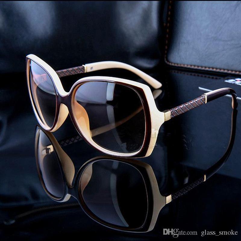 168ba1a32 Compre Marcas De Luxo Óculos De Sol De Designer Mulheres Retro Vintage  Proteção Feminino Moda Óculos De Sol Mulher Óculos De Sol Visão Com  Logotipo 6 Cores ...