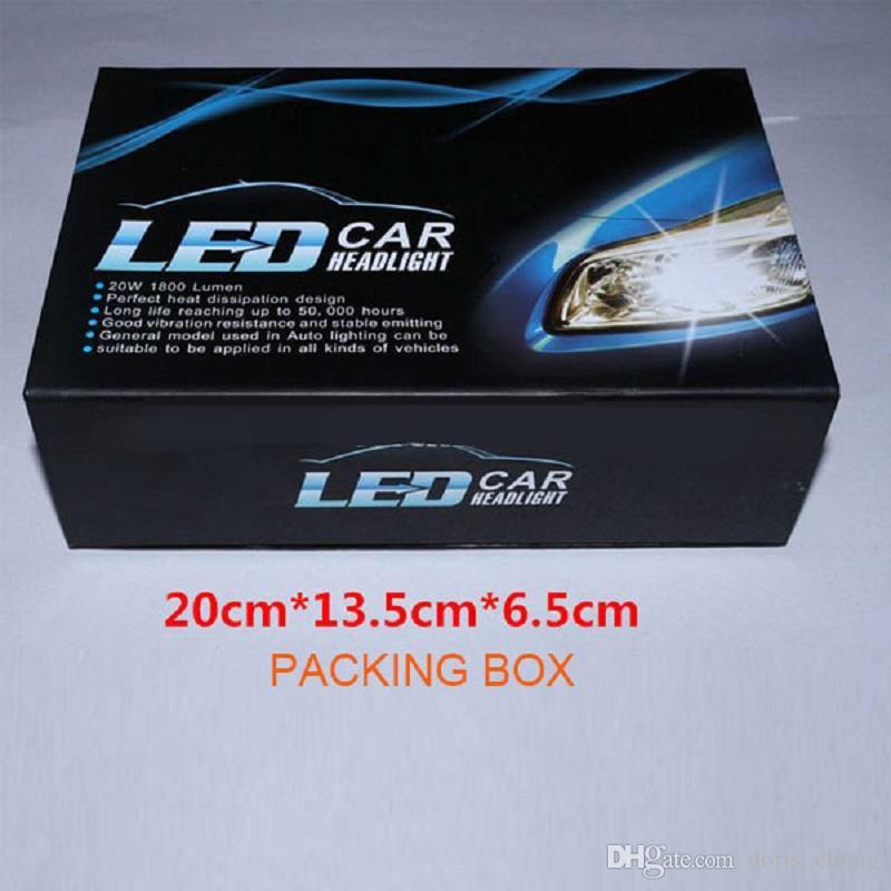 Alta qualidade Automotivo luzes led 30 W 3000LM COB Kit lâmpada H8 H9 H11 6000k substituir HID para refiting AUTO