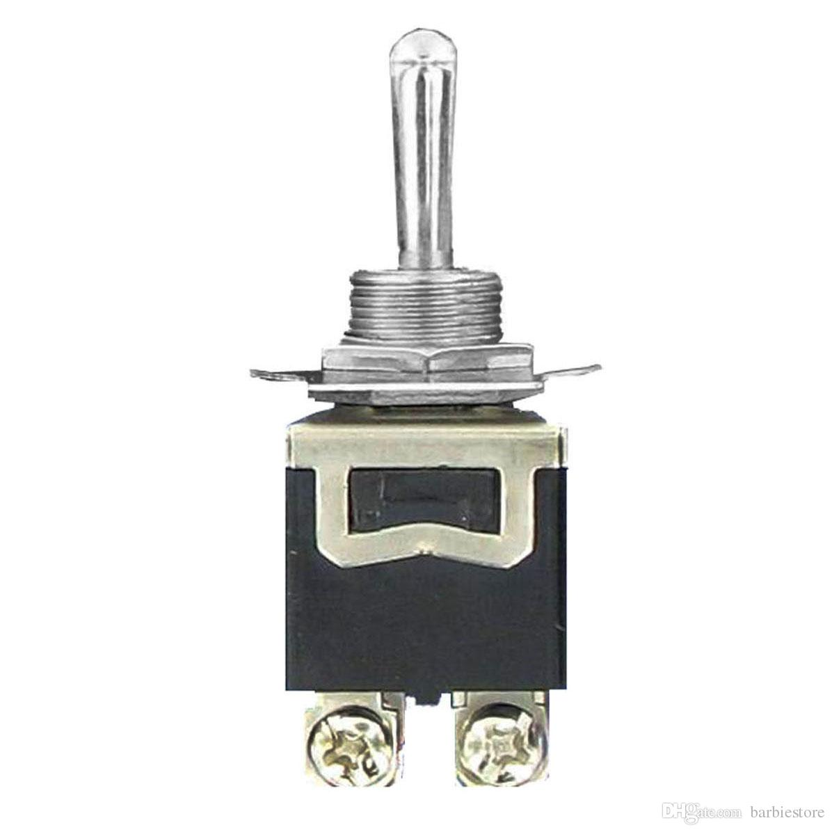 Interruptor de palanca ON / OFF de 20A 125V DPST 4 para servicio pesado con arranque impermeable B00050 BAR