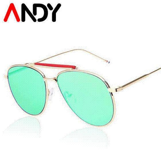 e3710c5f2 2016 New Flat Mirror Sun Glasses Men Driving Sunglass Points Women ...