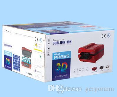 뜨거운 판매 CE는 ST-3042 모바일의 경우 t 셔츠 잔 차원 열 pressmacine / 3D 승화 진공 기계를 승인