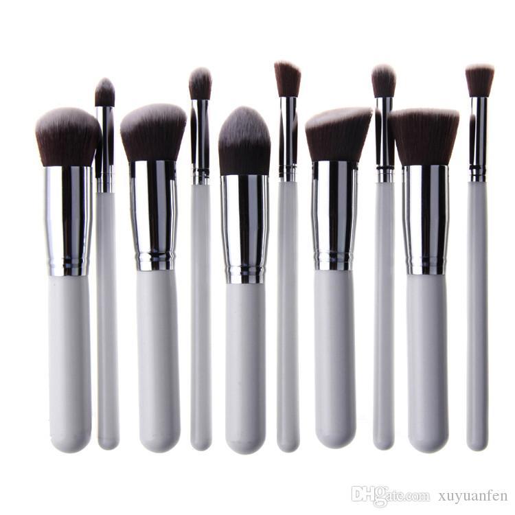 / set Maquiagem Maquillage pinceaux Beauté Cosmétiques Haute Qualité Fondation Mélange Blush Maquillage Brosse outil Kit Ensemble