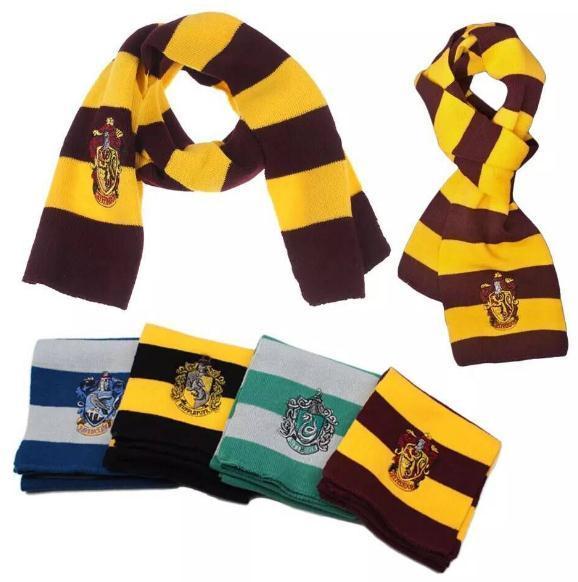 Harry Potter Scarf Gryffindor Scarf College Slytherin Gryffindor Gorgeous Hufflepuff Scarf Pattern