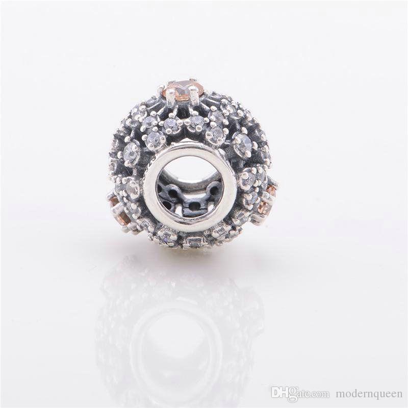 5 peças / lote openwork autêntico 925 Charme de prata esterlina para marca original 791592CFL H9