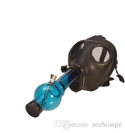 Wholesale 2016 New Hot Selling Gas Mask Bong Water smoking pipe bongs Smoking Accessories