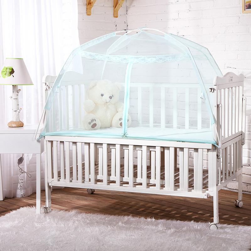 Wholesale Baby Bed With Net Outdoor Indoor Tent Crib Mosquito Mesh Princess Folding Portable Decor Awesome