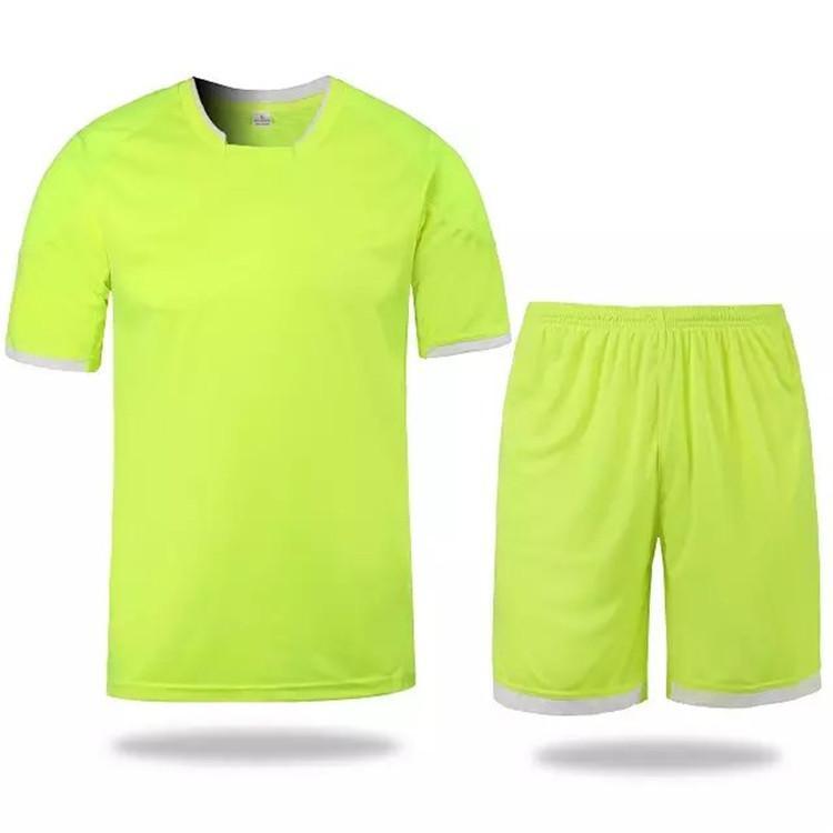 f832b1b60 Whosales Descuento Fútbol Jersey Uniformes De Fútbol Kit De Fútbol Camiseta  Uniformes De Fútbol Establece Diy Personalizado Número Nombre Patrón Equipo  ...