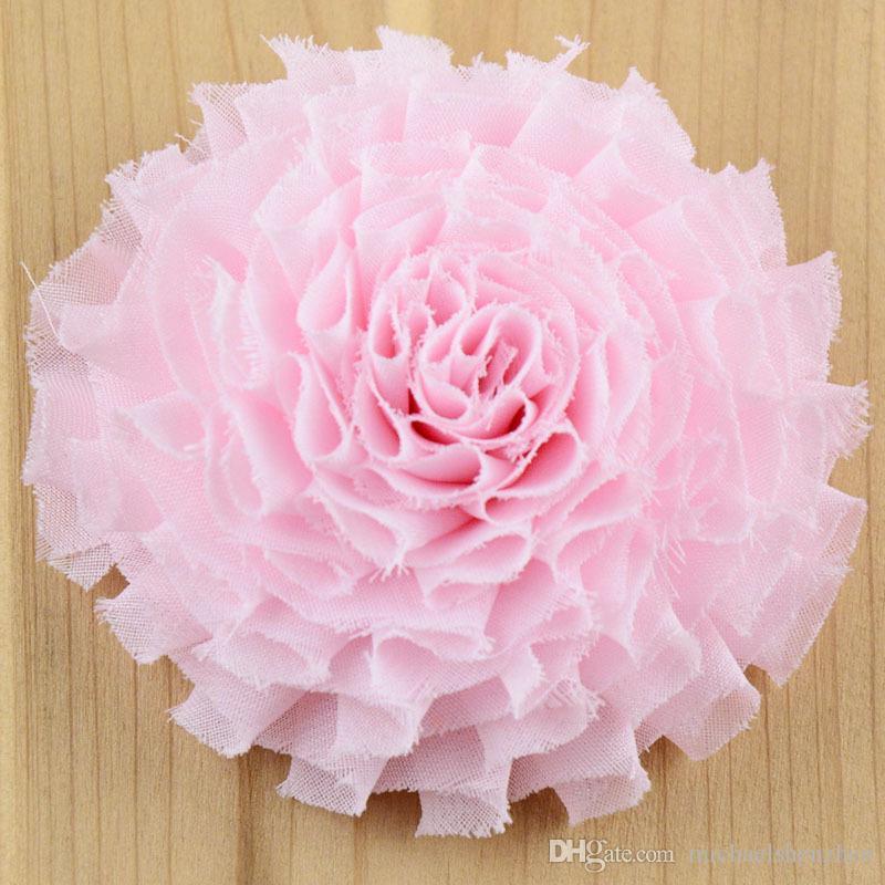 30 Couleur Fille pinkycolor fleur épingles à cheveux Barrettes 7CM enfants de bande dessinée accessoires de cheveux princesse Layered Bow pinces à cheveux B001