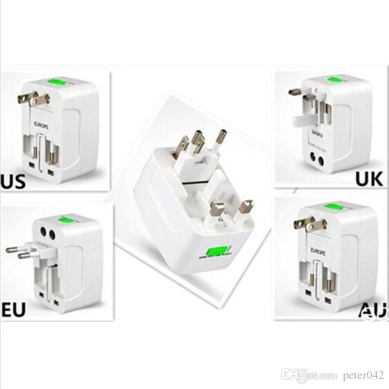 유니버설 세계 여행 AC 전원 플러그 컨버터 어댑터 소켓에 EU AU 영국 미국