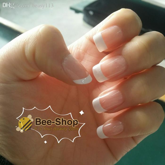 Wholesale Nail Art Tips Romantic New Girls/Bride Pre Designed French ...