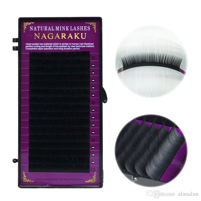 bc8050be970 NAGARAKU All Sizes,High Quality Eyelash Extension Mink,Individual Eyelashes,False  Eyelashes,Natural Eyelashes,Fake Eyelashes Mink Lash Eye Lash Extensions ...