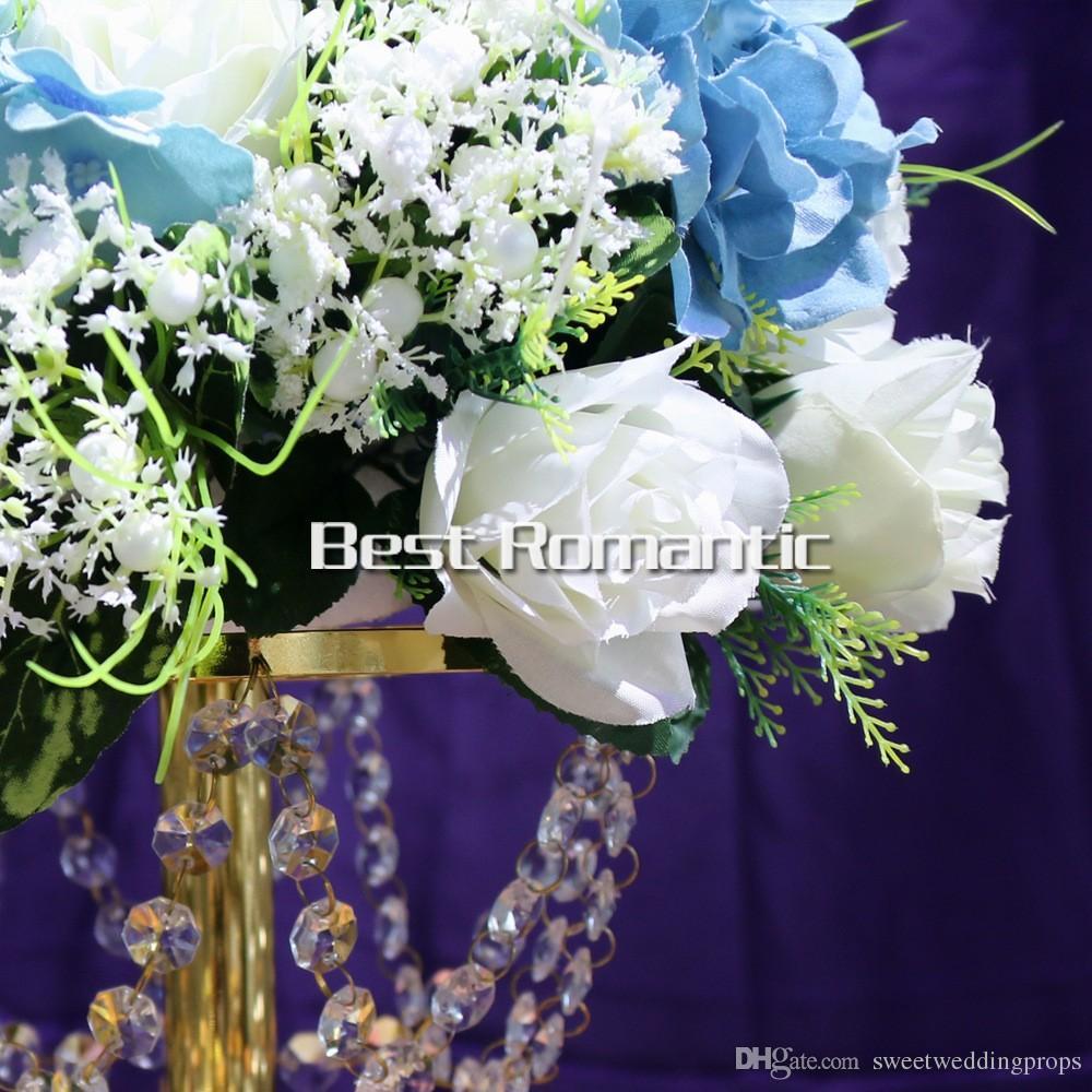stand de mariage centeroieces stand de fleur pour la scène de mariage et décoration de salle de mariage