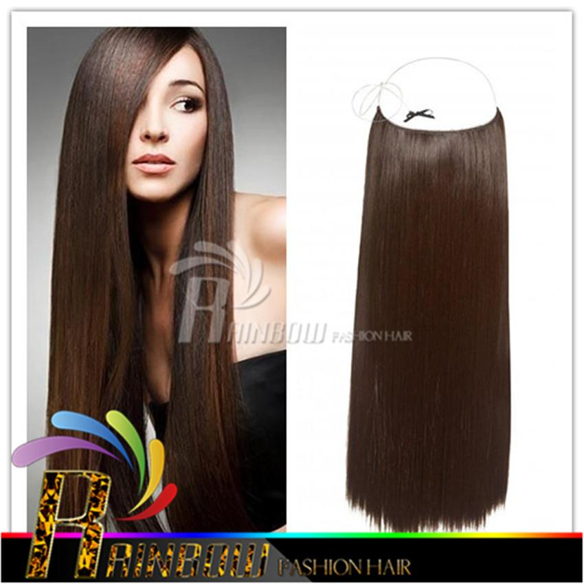 10 30 Flip In Hair Extension Halo Brazilian Human Extensions Mixed Colors Weave Virgin From Rainbowfashion