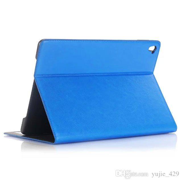 """For iPad Pro Case Oil Skin Wax Crazy Horse Style Magnetic Smart Leather Wallet Cases Stand Cover For Apple iPad Pro 9.7"""""""