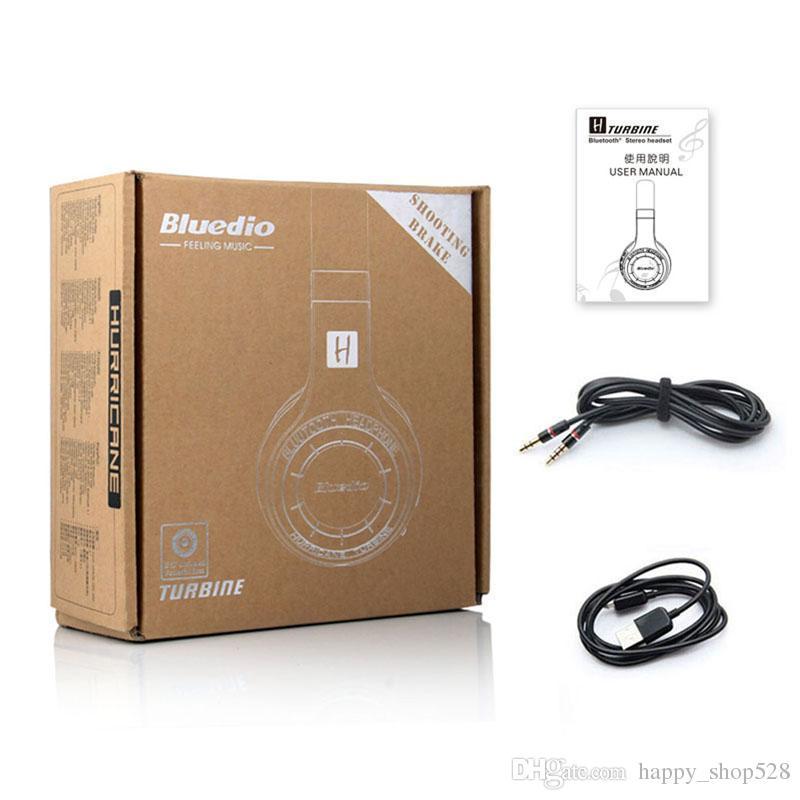 Original bluedio HT Wireless Bluetooth headphones for Headset mobile phone PC telephone bludio with Microphone headband with retail box