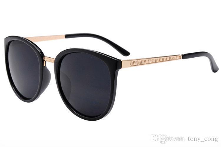 b2a8487675fe7 Compre Gafas De Sol Para Mujer Vintage Lentes Grandes Moda Sunglases Gafas  De Sol Redondas Para Mujer Gafas Gafas De Sol Gafas De Sol De Diseñador  3L1A26 A ...