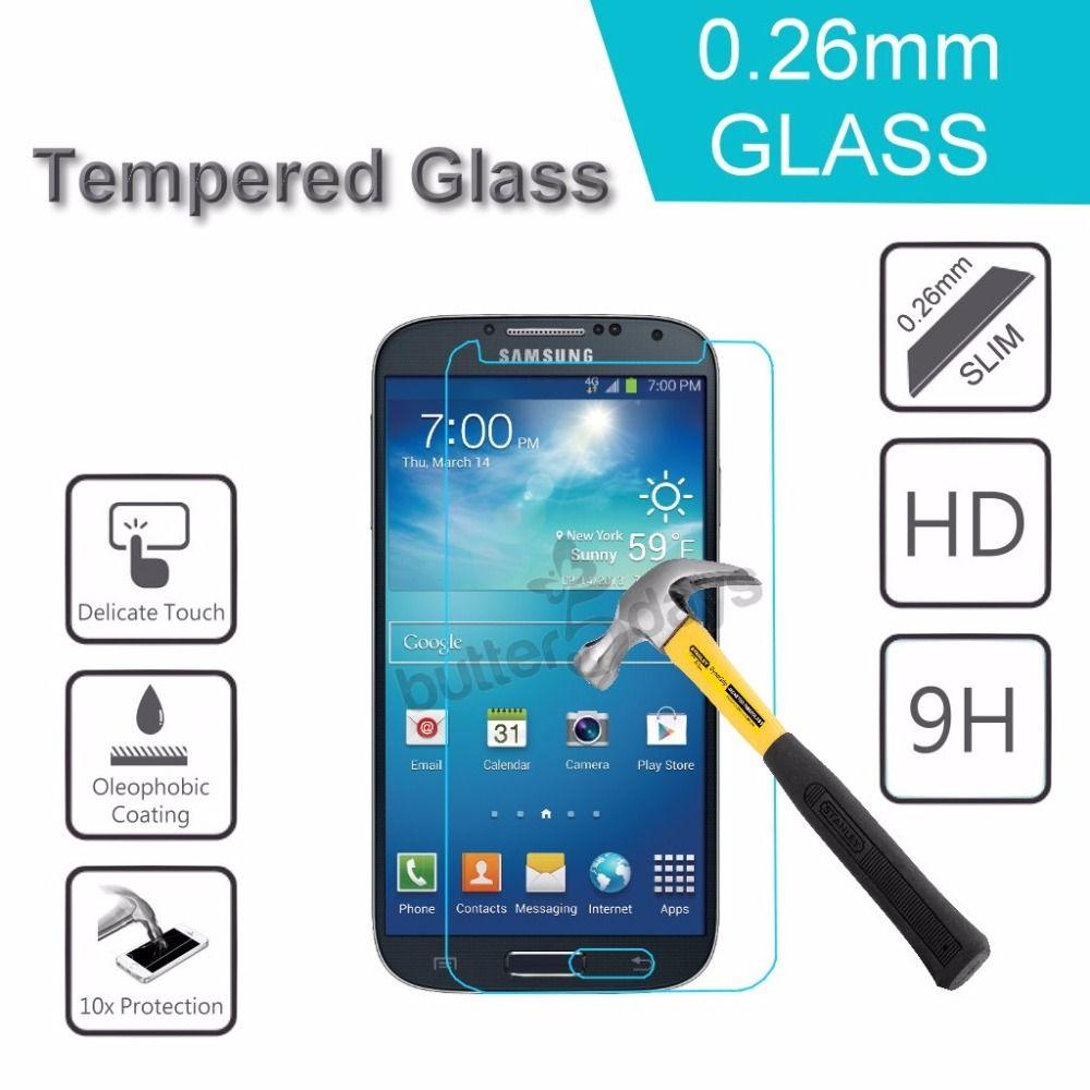 Ultra İnce 9H Premium temperli cam Ekran Koruyucu için Samsung Galaxy 2016 A3 / A5 / J1 / J5 / J3 / J1mini Duos Patlama ücretsiz gönderim