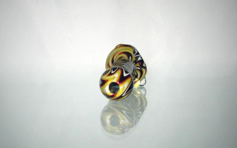 Pfeife Glas Shisha Löffel Rohr Heady Glas Bubbler Dicke Glas Mix Farbige Rohre Hohe Qualität