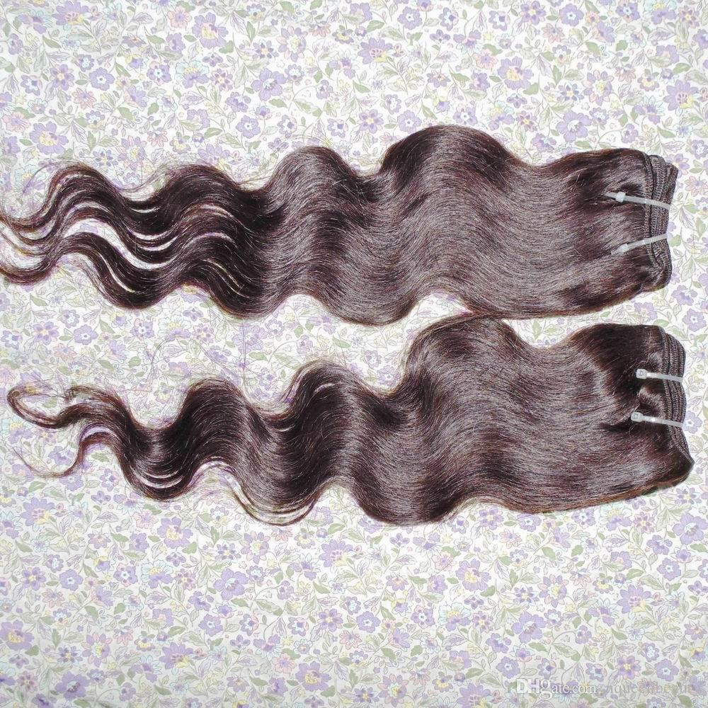 Dyed Light Brown Human Hair Extension 7A grade Peruvian Body wavy Soft Silky Texture Sexy Lady Beauty Shopping Cart Stock