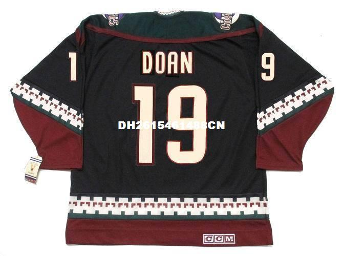 new product b8130 c2e60 Cheap custom retro SHANE DOAN Phoenix Coyotes 1998 CCM Vintage Jerseys  Jerseys Mens stitched Hockey Jersey