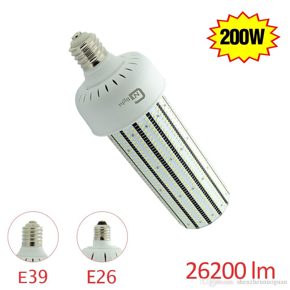 1000w hps replacement e40 e39 e27 200w led corn bulb light ul approved led lamp with internal. Black Bedroom Furniture Sets. Home Design Ideas