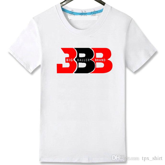 BBB Star T Shirt Lonzo Ball Short Sleeve Gown Basketball Sport Tees Leisure  Unisex Clothing Quality Cotton Tshirt Long Sleeve Shirts Men Shirts From ... abd2f5bf3