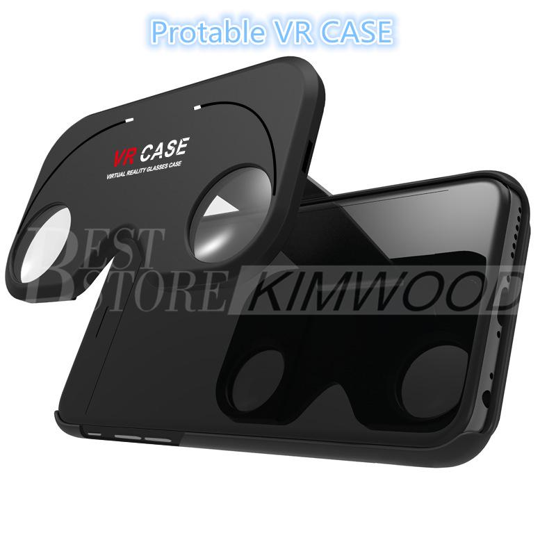 New Design Portable VR Case Version VR Virtual Reality Glasses Rift Google Cardboard 3D Movie for iPhone 6 & iPhone 6 Plus