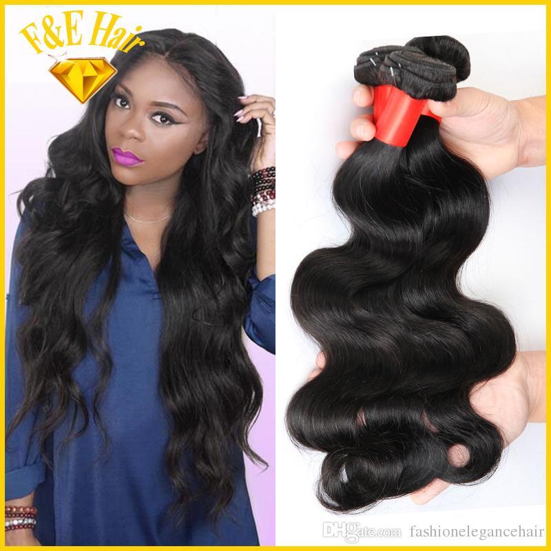 High Quality Queen Brazilian Virgin Hair Unprocessed Human Hair