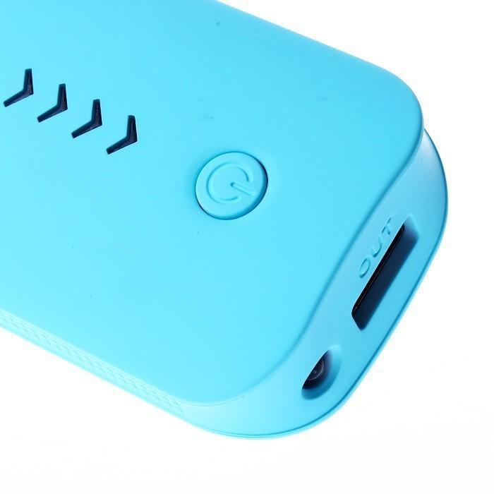 Capacidade completa real 5600mAh Power Bank portátil fonte de alimentação com luz LED USB alternativo externo Carregador de Bateria powerbank Móvel