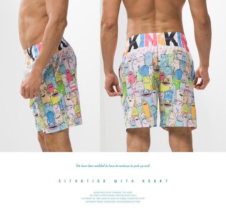 Men Beach Shorts Bermuda Casual da uomo Boxer da esterno Trunks Running Sport Pantaloncini da basket Swim Swimming Wear Costumi da bagno Brand