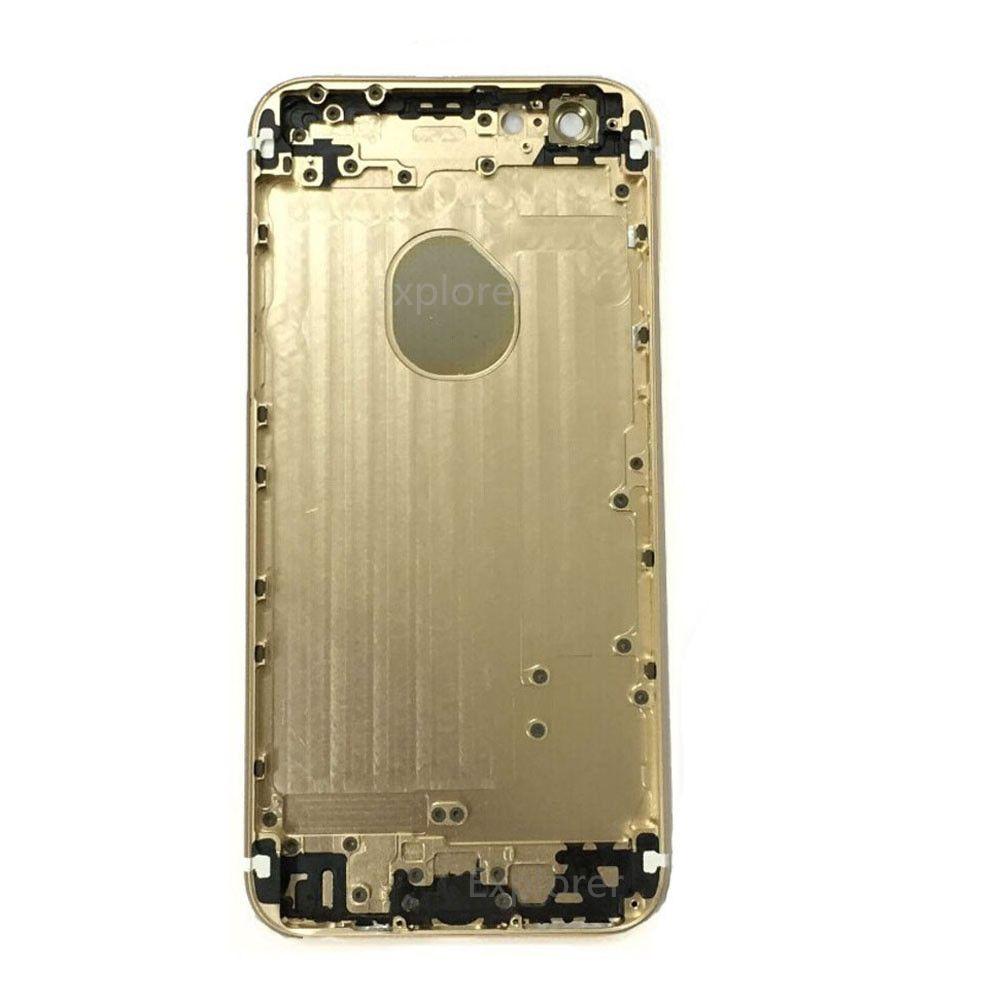 للآيفون 6 6G زائد 5.5 4.7 بوصة الإنشائية كاملة الإسكان عودة البطارية باب الغلاف حالة استبدال + أدوات / لوط