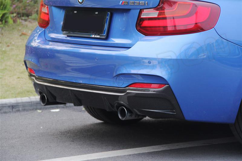 For The Rear Diffuser Bmw 1 Series F22 M235i Front Bumper